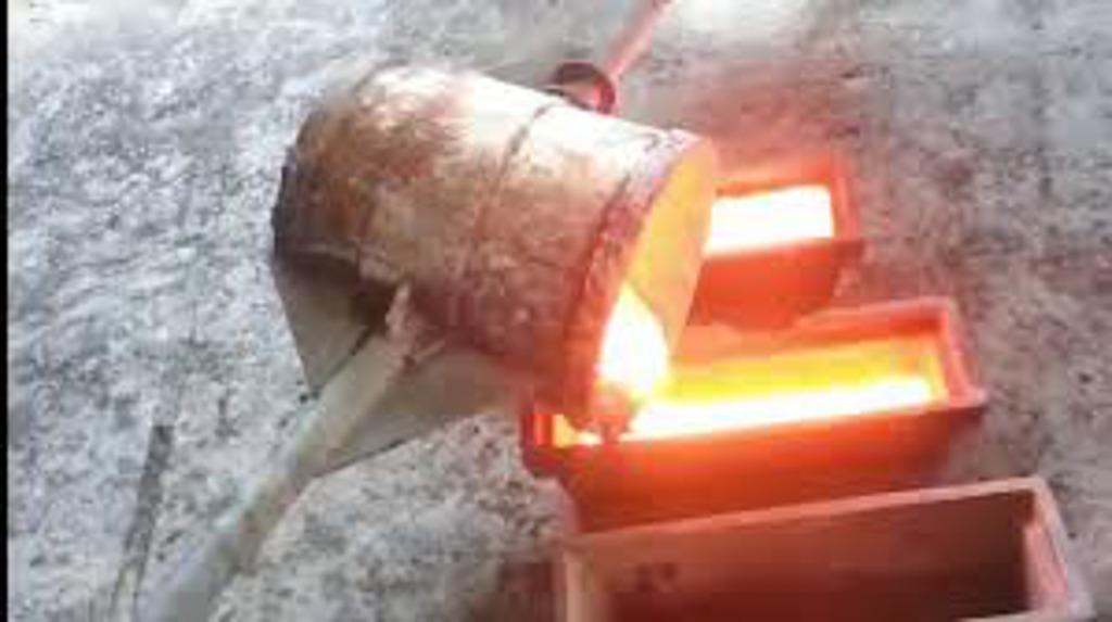 Cobre metal reciclado há mais de 10 mil anos