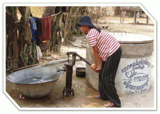 Captação água contaminada