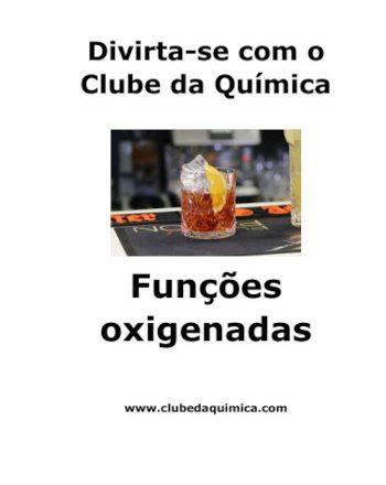 Capa revista divirta-se com o clube da Química - Funções oxigenadas
