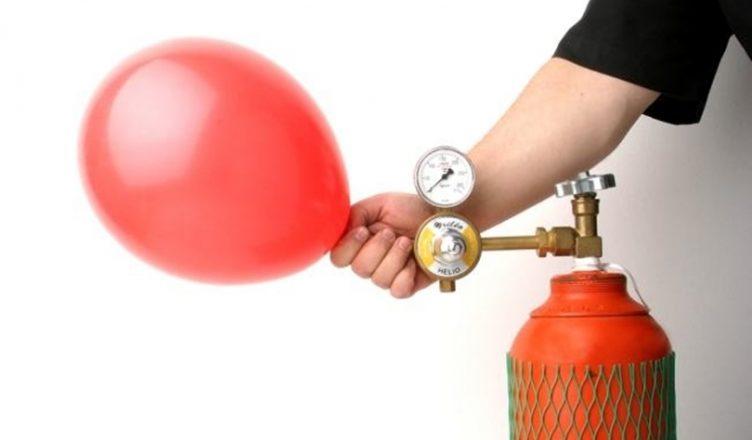 Gás hélio