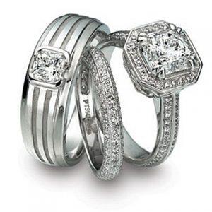 anel de platina