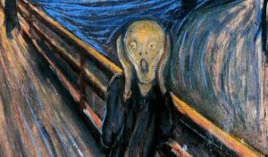 O grito Van Gogh