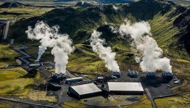 Usina de aterro de dióxido de carbono