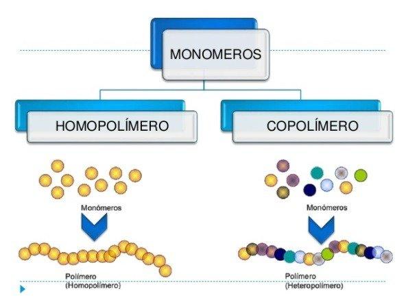 homopolímero e copolímero