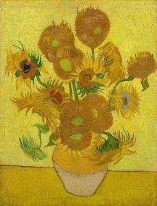 Girassóis Van Gogh
