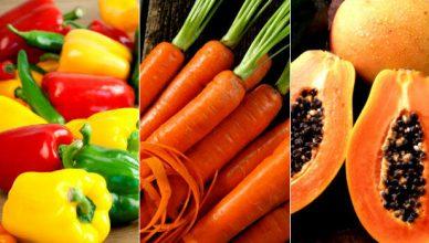 Alimentos ricos em beta-caroteno