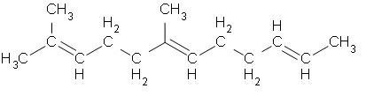 Estrutura química da borracha