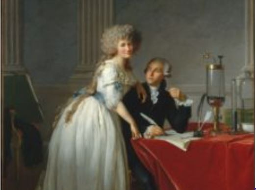 Quadro de Lavoisier e Esposa